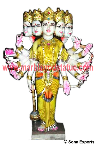 Makrana Marble Gayatri Mata Murti supplier manufacturer