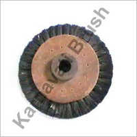 Wood Hub Wheel Brush