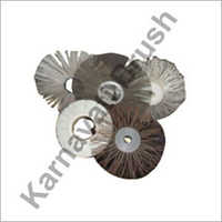 Wood Coated Wire Circular Brushes