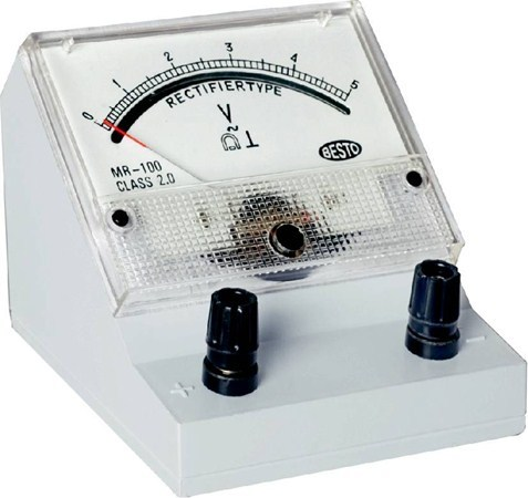 A.C.Rectangular Panel Meter Model MR-100 (with stand)