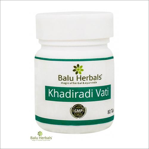 Khadiradi Vati 80 Tablet