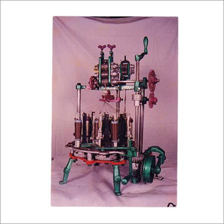12 Spindle Rope Braiding Machine