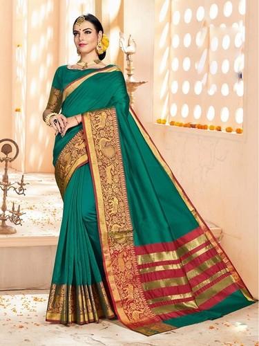 Silk Zari Casual saree