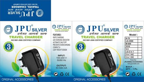 Silver mobile Charger