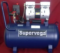 0.75 HP  Oil free Medical Grade Compressor with 50 L tank (550PW) Super Vega