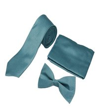 Mens formal skyblue Tie & bow