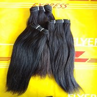 Remy Straight Hair Extension,100 % Human Virgin Hair Weaves