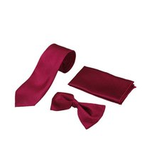Mens formal Dark pink Tie & bow