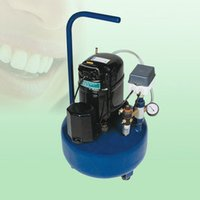 1Hp Chromadent Low Noise Compressor with 50Lit Tank