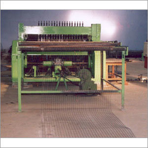 Weld Wire Mesh Machine