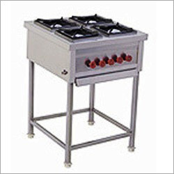 Four Burner Cooking Range Without Oven