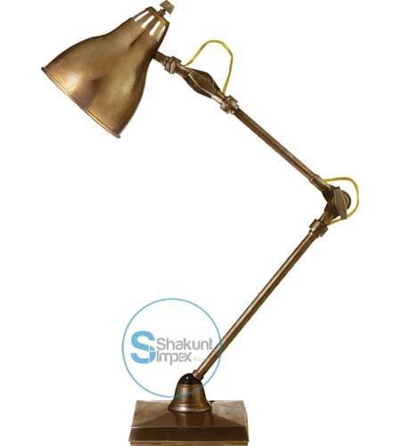 Industrial table lamp or desk lamp