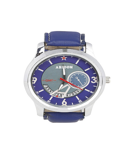 Mens Blue Analog wrist watch