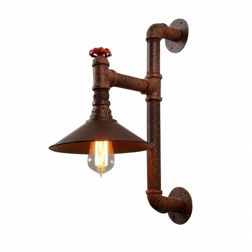 Bronze Pipe Industrial Hanging Lamp