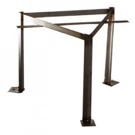 Bee Hive Iron Stand