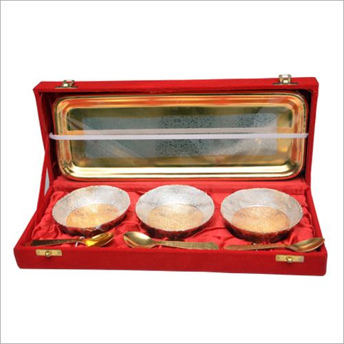 Decorative Brass Bowl Set