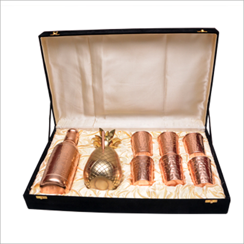 Copper Crockery Set