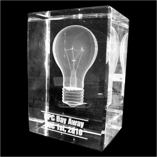 3D Crystal Logo Promotion