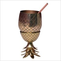 Brass Pineapple Shape Jug