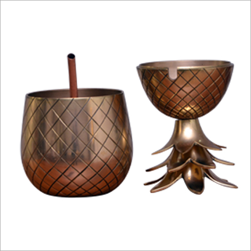 Brass Pineapple Shape Jug