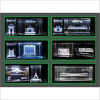 3D Crystal Seven Wonders