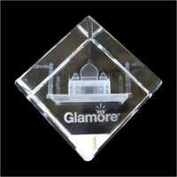 3D Tajmahal Crystal Monuments
