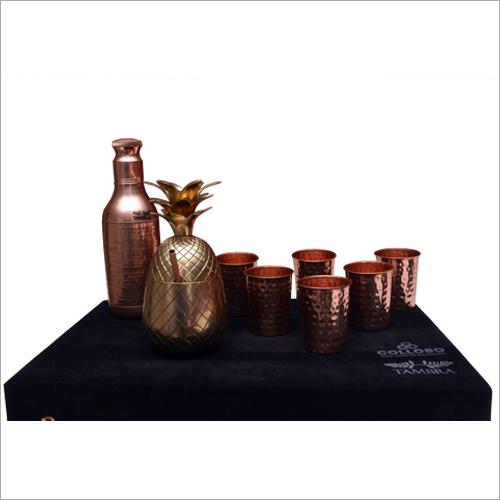 Copper Crockery Set