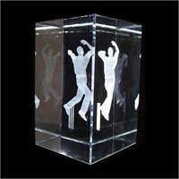 3D Crystal Cricket Sports