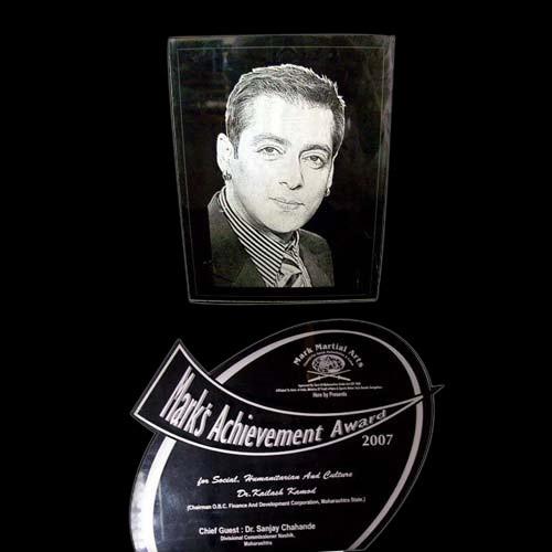 Acrylic Filmstar Mementos Engraving Service