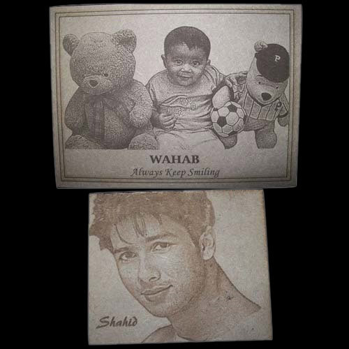 Wooden Picture Laser Engraving Service