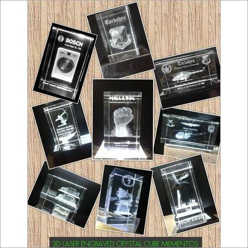 3D Crystal Mementos