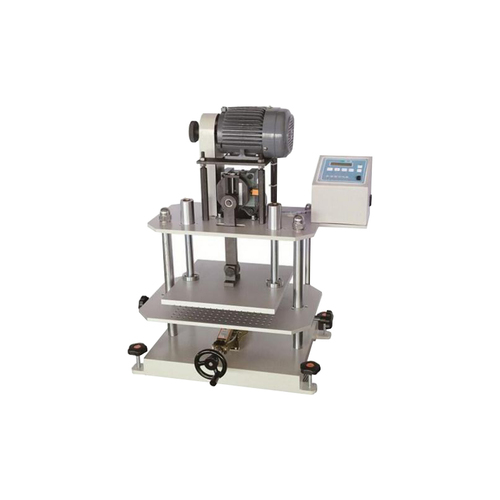Rubber repeated compression test machine