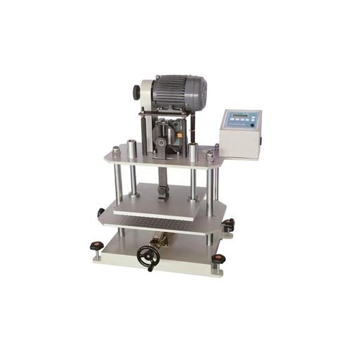 Rubber repeated compression test machine