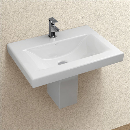 Half Pedestal With Basin