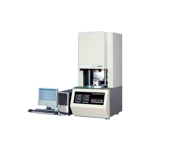 Rubber rheometer with rotor