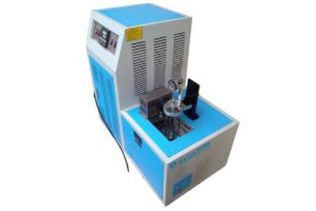 Compression cold-resistant coefficient test machine