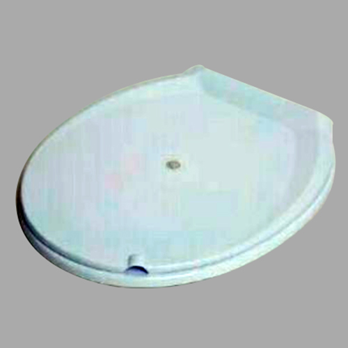 Round Closed Front Toilet Seat Cover with Jet