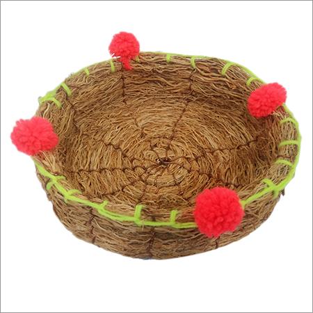 Vettiver Flower Basket