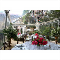 Clear Dining Tent