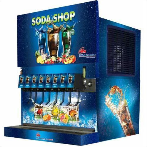 8 + 2 Valve Soda Vending Machine