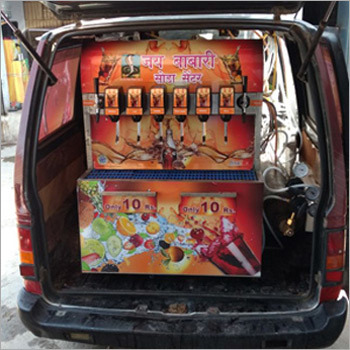 Mobile Soda Vending Machine