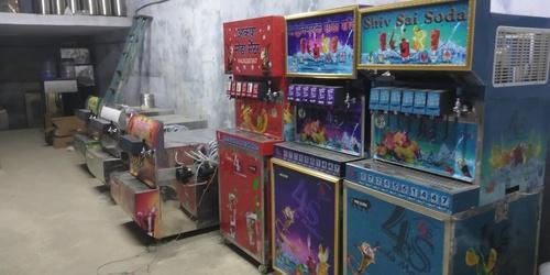 Multi Flavour Soda Dispenser Machine