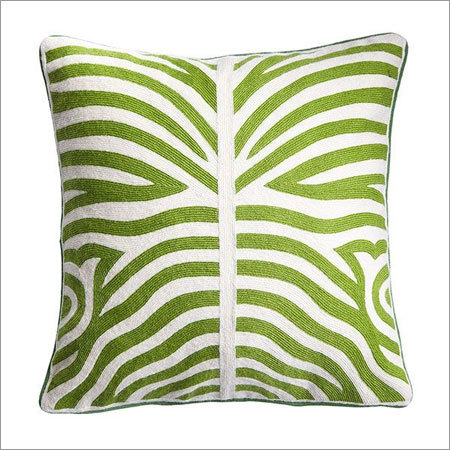 Designer Crewel Pillows