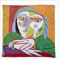 Picasso Face Pillow