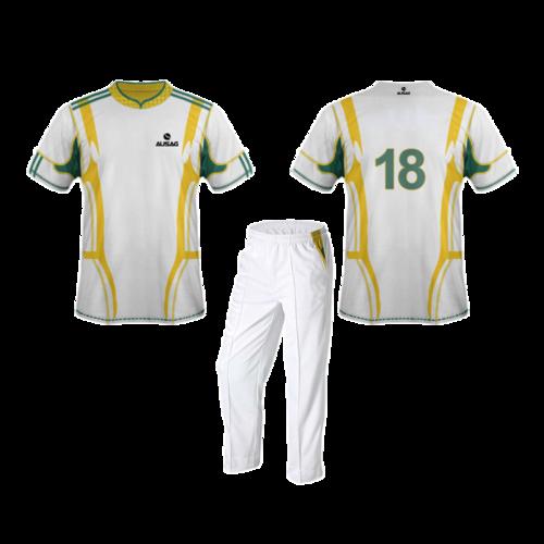 Cricket Uniform White
