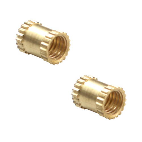 Brass Knurled Molding Inserts