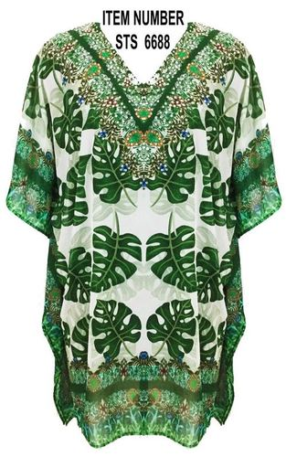 Beachwear Digitan Print Kaftan