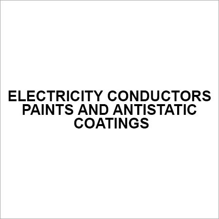Electricity conductors paints and antistatic coatings