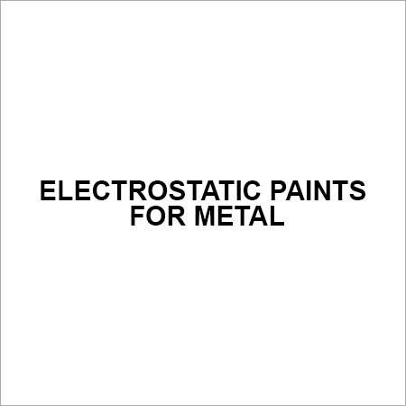 Electrostatic Paints For Metal