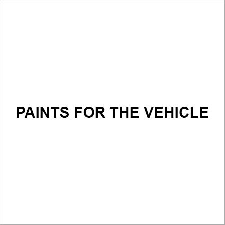Paints For The Vehicle